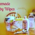How I Save By Using Homemade Baby Wipes