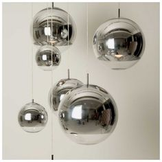 Tom Dixon Mirror Ball Pendant Light Replica Lights is space helmet inspired super reflective lamp shade that's is made of high-quality glass and carbon steel. Round Pendant Light, Cheap Pendant Lights, Pendant Light Fixtures, Pendant Lamp, Chandelier Lamp, Ceiling Pendant, Tom Dixon, Floor Lamp Shades, Ceiling Lamp Shades