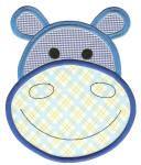 cute turkley applique | ... | Free Machine Embroidery Designs | Cute Animal Faces Applique Set 2