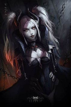 Pin od layora na female characters fantasy art, anime art i Dark Fantasy Art, Fantasy Girl, Fantasy Art Women, Fantasy Kunst, Anime Fantasy, Fantasy Artwork, Dark Art, Art Anime, Anime Kunst