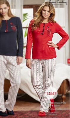 En iyi marka bayan pijama takımları en uygun fiyata pijamadeposu.com da #fashion #moda #turkiye #istanbul #pierrecardin #giyim #rahat #kırmızı
