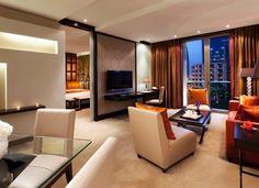 Beautiful MotorDrape™ Hotels in Olaya Riyadh Riyadh Saudi Arabia, Rosewood Hotel, Five Star Hotel, Beautiful Hotels, Large Windows, Luxury Travel, Hotels And Resorts, Hotel Offers, Drapery