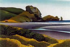 Donald Binney Lion Rock, Piha