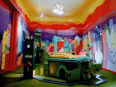 Castle Room at the Propeller Island City Lodge – Berlin, Germany