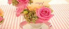 Taza y flores