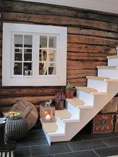 inside of a cottage