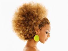 Curly hair Beyoncè