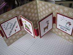Stampin mit Scraproomboom: Neue Wochenangebote und zwei Pop-Up Karten                                                                                                                                                                                 Mehr (Christmas Crafts Cards)