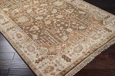 Adana Plush Pile 8' x 11' Rectangle Wool Rug