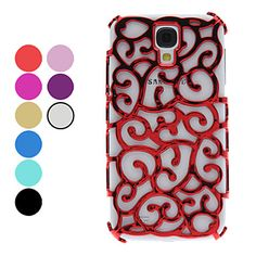 Hollow-Out Flower Pattern Hard Case for Samsung Galaxy S4 I9500 (Assorted Colors) – USD $ 2.99