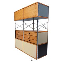 Charles Eames Original Storage Unit 420-N | From a unique collection of antique and modern cabinets at http://www.1stdibs.com/furniture/storage-case-pieces/cabinets/