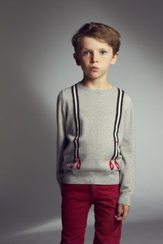 where the wild kids are: wild kids fashion trui met bretel Little Boy Fashion, Kids Fashion Boy, Little Man Style, Little Boys, Amelie, Baby Winter, Kid Styles, Kind Mode, Pull
