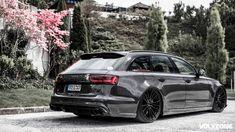Carbon Fiber Kit For Audi RS6 MTM !