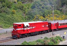RailPictures.Net Photo: 1431 Steam Incorporated EMD G12A (DA class) at Near Wanganui, New Zealand by John Russell
