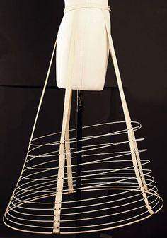 Cage crinoline 19th century - The Metropolitan museum of Art