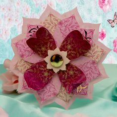 Eastern Promise by Hunkydory Crafts. Card made using 'Lotus Flower Cards'