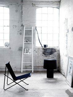 An artist loft needs room to get dirty!