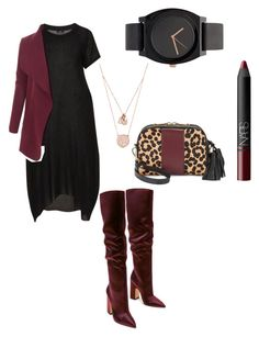 """""""Sin"""" by mcasspr on Polyvore featuring LE3NO, Isaac Mizrahi, Michael Kors and NARS Cosmetics"""