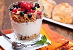 Un parfait, parfait pour un petit-déjeuner pressé « Maigrir Sans Faim