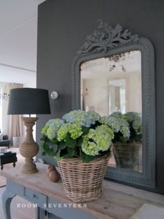 Mooie spiegel in mooi interieur!