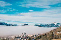 #Mariazell #Winter #Basilika