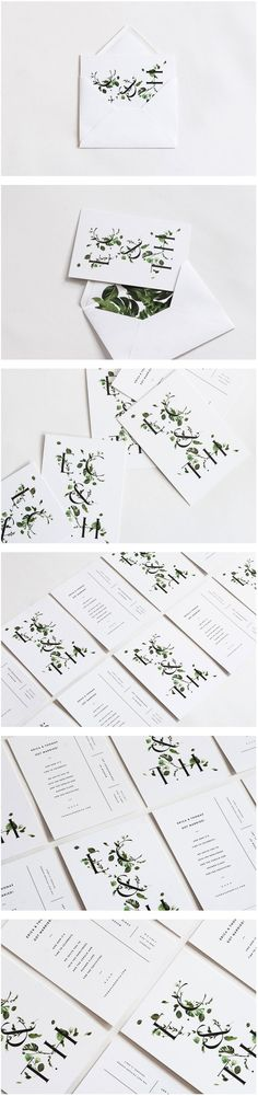 Cool Brand Identity Design. E.C. & T.H. #branding #brandidentity [http://www.pinterest.com/alfredchong/]