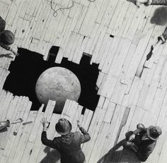 Large-scale Graphite Drawings of Surreal Adventures, Dreamers, and Heroes by Ethan Murrow