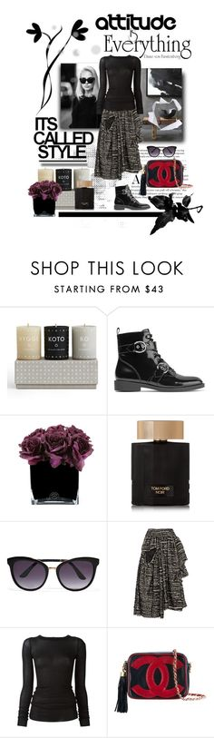 """""""Untitled #66"""" by georgiagreer ❤ liked on Polyvore featuring Skandinavisk, Marc Jacobs, Hervé Gambs, Tom Ford, Simone Rocha, Rick Owens, Chanel, Fall, chic and polyvoreeditorial"""