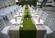 Never thought fake grass could look classy.....kind of loving this....