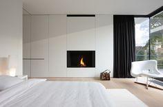 Foyer escamotable au bois  Modèle : ULTIME