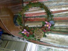 Contemporary wreath.