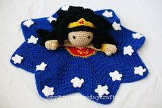 WONDERful WOMAN Blanket Buddy Crochet pattern by Spicy Tuesday   Crochet Patterns   LoveCrochet
