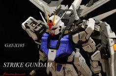 [Modelers-G] PG Aile Strike Gundam by kazuo316ti