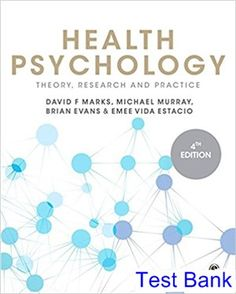 Introduction to general organic and biochemistry 11th edition test bank for health psychology theory research and practice 4th edition by marks ibsn 9781446295076 fandeluxe Image collections