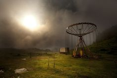 "Second place – ""Carousel in the Myst"" by Marko Stamatovic 