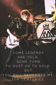 Centuries by Fall Out Boy.....IF YOU HAVEN'T HEARD THE SONG, YOU NEED TO IT IS AMAZING!