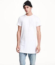 Long White Shirt Men