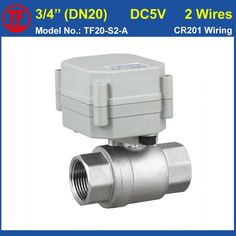 "28.33$  Watch here - http://aliz0x.shopchina.info/go.php?t=880070927 - ""TF20-S2-A 2 Way SS304 3/4"""" Full Port Actuated Valve DC5V 2 Wires NPT/BSP DN20 Electric Water Valve For Water Application"" 28.33$ #SHOPPING"