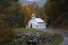 West Virginia Country Church