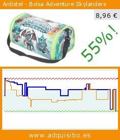 Ardistel - Bolsa Adventure Skylanders (Videojuegos). Baja 55%! Precio actual 8,96 €, el precio anterior fue de 19,99 €. https://www.adquisitio.es/ardistel/skylanders-bolsa