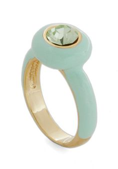 Mint For Me Ring | Mod Retro Vintage Rings | ModCloth.com