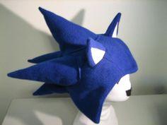 Sonic the Hedgehog Hat Sonic The Hedgehog Costume, Sonic Costume, Animal Hats, Game Item, Kids Christmas, Nerdy, Dinosaur Stuffed Animal, Geek Stuff, Costumes