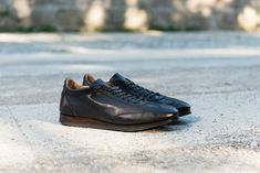 Sneaker Fabi in vitello tamponato e lucidato a mano. All Black Sneakers, Shoes, Fashion, Moda, Zapatos, Shoes Outlet, Fashion Styles, Shoe, Footwear