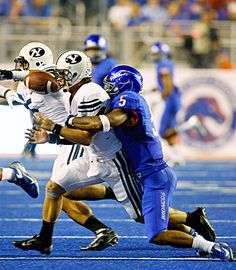 No. 24 Boise State escapes as BYU's 2-point conversion fails late in game