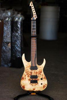 Skervesen guitars - i like the headstock on this one