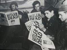 April 30, 1945 - Adolf Hitler commits suicide.
