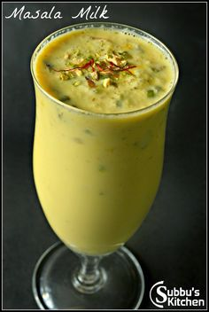 Madras Masala Paal, Masala Milk, How to prepare Masala Paal, Milk Recipes, Sweet Recipes, Vegetarian Recipes, Cooking Recipes, Spicy Recipes, Bread Recipes, Milkshake Recipes, Smoothie Recipes, Fruit Milkshake