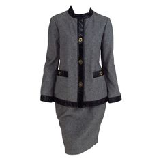 1stdibs - Bonnie Cashin Sills wool & leather suit 1960s explore items from 1,700  global dealers at 1stdibs.com