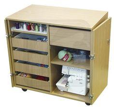 Тумба для швейных принадлежностей Комфорт 2.1.2MD #текстильторг #мебель #шитье #оверлок #швейнаямашина #стол