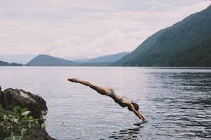 """benchandcompass: """"diving into summer like… """""""